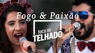 Download Bloco Fogo e Paixão toca 'Meu sangue ferve por você' no telhado do Globo Video