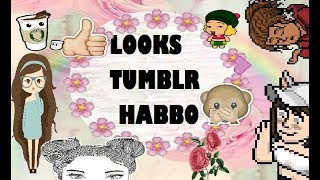 Download LOOKS TUMBLR SUPER FACILES (Habbo)👗 -Lolly Holos Video