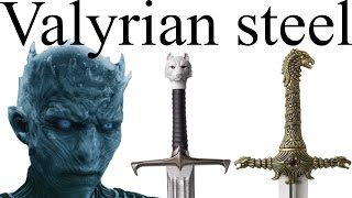 Download Valyrian steel: who has the swords that can defeat white walkers? Video