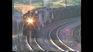 Download Tehachapi (1990) SP Coal Train With 13 Locomotives ***(300th Video)*** Video