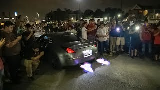 Download ANOTHER FIGHT AT A CAR MEET! + Cops Called on OUT OF CONTROL Car Meet Video