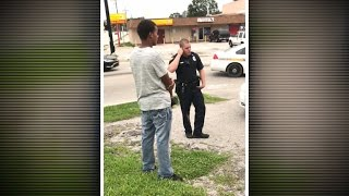 Download Video shows Florida officer threatening man for jaywalking Video