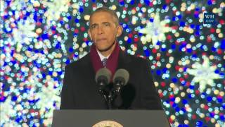 Download First Family Attends The Christmas Tree Lighting Video