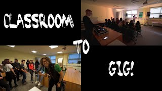 Download From Classroom to Gig in 8 Minutes! Video