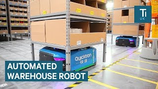 Download Inside Alibaba's smart warehouse staffed by robots Video