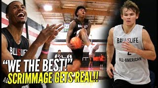 Download BIL All American Scrimmage GOT REAL!! Mac McClung, Kevin Porter, Nas & Naz & More!! SO MANY BATTLES! Video