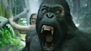 Download Tarzan vs ″Brother″ Gorilla - The Legend of Tarzan Scene Video