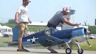 Download Rc Biggest F4U Corsair 400ccm Super Moki Video