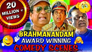 Download Brahmanandam Award Winning Comedy Scenes   Jr NTR, Allu Arjun, Vishnu Manchu Video