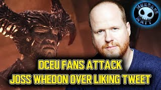 Download DCEU fans attack Joss Whedon over liking tweet Video