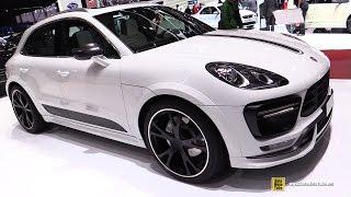 Download 2015 Porsche Macan Turbo TechArt - Exterior and Interior Walkaround - 2015 Geneva Motor Show Video