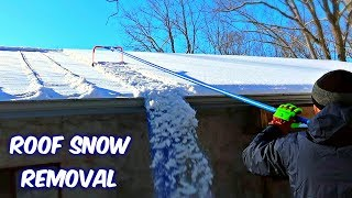 Download Snow Removal Gadget from a Roof Video