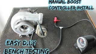 Download Manual Boost Controller Install (part 2 internal actuator) Video
