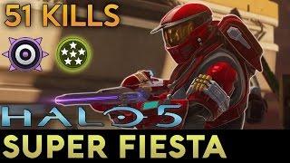 Download Halo 5: Guardians - 51 Kill Game of Super Fiesta Video