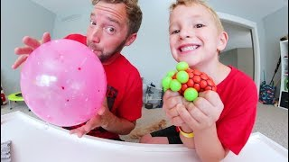 Download Father & Son TEST $5 DOLLAR TOYS! / Alien Brain Ball & More! Video