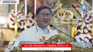 Download HOMILY: Cardinal Tagle on last day of Novena of Sto. Niño de Tondo | 17 January 2020 Video
