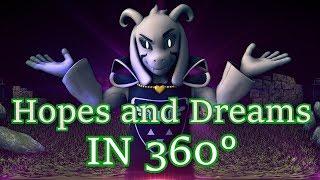 Download [SFM Undertale] Hopes and Dreams 360° (360 degree Battle) Asriel Dreemurr Video