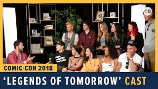 Download Legends of Tomorrow Cast - SDCC 2018 Exclusive Interview Video