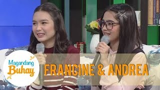 Download Magandang Buhay: Francine and Andrea share how they bond on and off cam Video