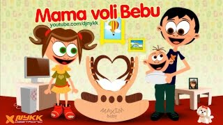 Download Mama Voli Bebu (Mommy Loves Baby) Lullaby Song for Small Children Video