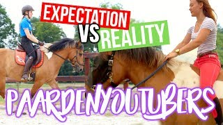 Download Expectation VS Reality; PaardenYouTubers! ft. HOEFWIJZER! + ENGL SUBS | felinehoi Video