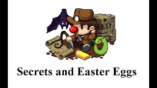 Download Spelunky Secrets and Easter Eggs Video