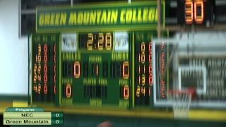 Download New England College vs. Green Mountain Men's Basketball Video