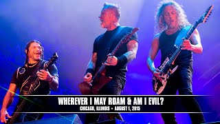 Download Metallica: Wherever I May Roam and Am I Evil? (MetOnTour - Chicago, IL - Lollapalooza - 2015) Video