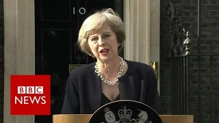 Download Theresa May: First speech as Prime Minister - BBC News Video