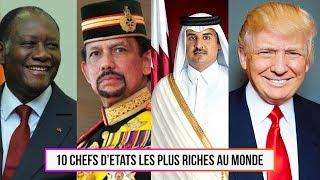 Download 10 Chefs d'Etats les plus riches au monde Video
