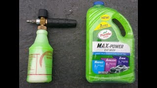 Download Turtle Wax Max Power Car Wash Review! (Foam Cannon) Video