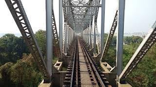 Download Railway bridge at kolaghat (RUPNARAYAN). Exclusive view& awesome experience. Video