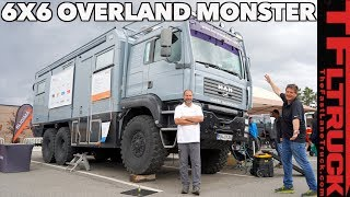 Download Move Over EarthRoamer! This 6X6 Overlanding Truck Makes Other Off-Roaders TREMBLE in Fear!! Video