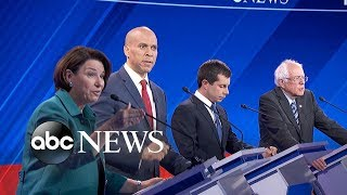 Download Democratic candidates debate: Dealing with China and tariffs   ABC News Video