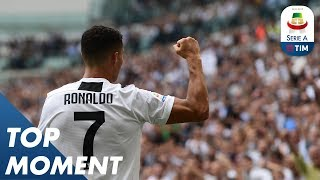 Download Ronaldo Opens His Account With A Double | Top Moment | Serie A Video