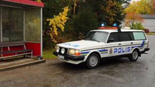 Download Evolution of Volvo Police cars - Swedish style Video