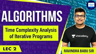Download Algorithms lecture 2 - Time complexity Analysis of iterative programs Video