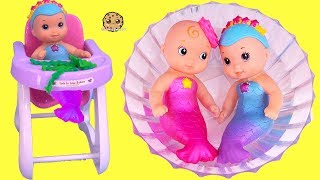 Download Mermaid Water Baby Twins ! Babysitting Merbabies with American Girl Doll Video