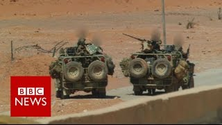 Download Britain's secretive and lethal force in Syria - BBC News Video