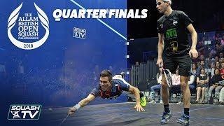 Download Squash: Allam British Open 2018 - Men's QF Roundup Video