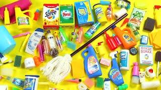 Download 100 DIY Miniature Barbie Dollhouse Accessories #4 - Bath & Cleaning Supplies - simplekidscrafts Video