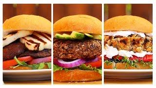 Download 3 Incredible Veggie Burger Recipes! Video