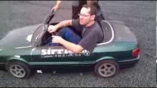 Download Audi 80 Cabrio Mini Kinderauto Carousel Kids Car Video