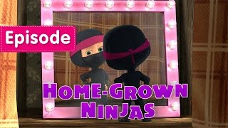 Download Masha and The Bear - Home-Grown Ninjas (Episode 51) Video