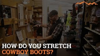 Download How do you stretch cowboy boots? Video