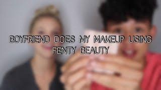 Download BOYFRIEND DOES MY MAKEUP USING FENTY BEAUTY | Ft BeyondBrandon Video