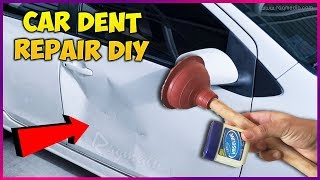 Download Car Dent Repair With Vaseline and Toilet Plunger DIY Video