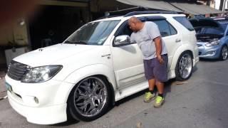 Download Toyota fortuner air suspension Video