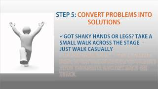 Download How to Overcome Stage Fright - 6 Easy Steps Video