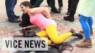 Download Pussy Riot Gets Whipped in Sochi Video